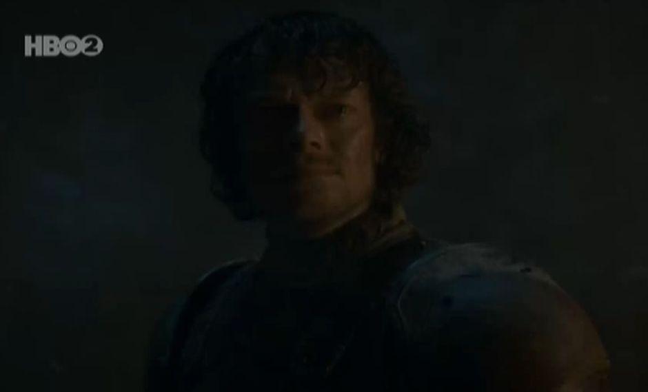 """""""Game of Thrones"""": Este fue el sacrificio de Theon Greyjoy por salvar a Bran Stark del Rey de la Noche. (Foto:Captura de video)"""