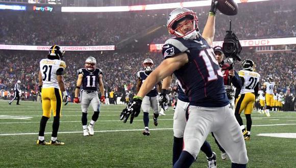 ¡New England Patriots al Super Bowl! Venció 36-17 a Steelers