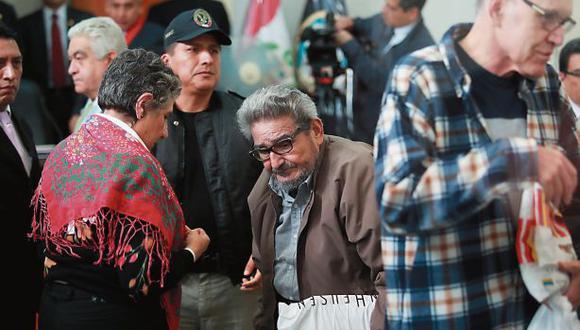 El 11 de setiembre se dictará sentencia contra la cúpula senderista. (Foto: Lino Chipana/El Comercio)
