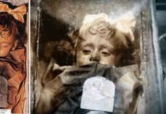 Rosalía, la niña momificada que parece abrir los ojos
