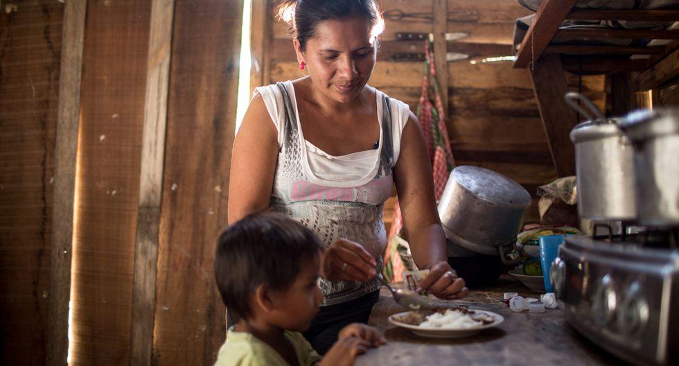 La desnutrición crónica en menores de 5 años bajó 1,3 puntos porcentuales en el 2016 respecto al 2015. Sin embargo, el 43,5% de menores de 3 años tiene anemia (Foto: archivo)