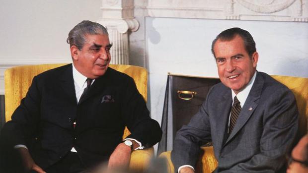 El presidente de Pakistán, Yahya Khan, ayudó al gobierno de Nixon a entablar comunicación con China. (GETTY IMAGES)