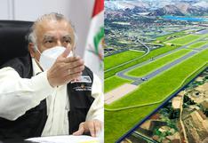 """Ministro de Transportes sobre Chinchero: """"En muchos sitios, el Patrimonio Mundial está cerca de los aeropuertos"""""""