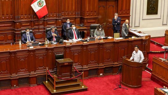 El presidente del Consejo de Ministros, Vicente Zeballos, se presentará este jueves para pedir el voto de confianza del Parlamento (Foto: GEC)
