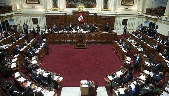 Una sesión del pleno durante la  del Congreso. (Eduardo Cavero / El Comercio)