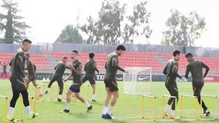 El Atlético de Madrid ultima su preparación para el derbi sin Herrera ni Giménez