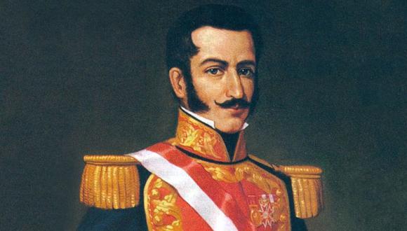 Felipe Santiago Salaverry gobernó el Perú, entre los años 1835 y 1836. (Archivo)