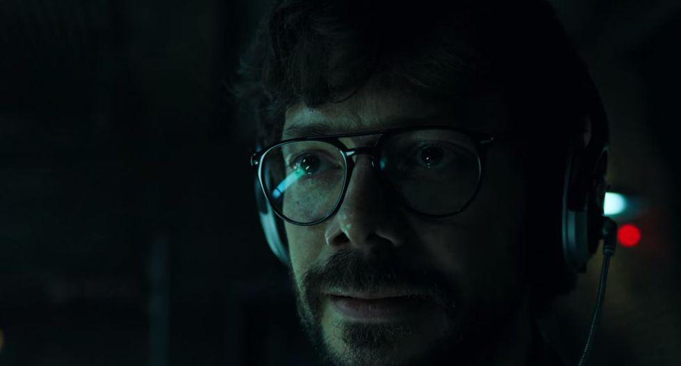 """¿Qué pasará ahora con el Profesor? ¿Acaso murió en la última escena de la cuarta temporada de """"La casa de papel""""? (Foto: Netflix)"""