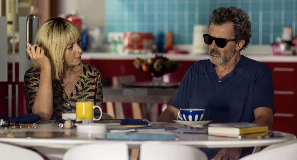 Antonio Banderas protagoniza esta película, como alter ego del propio Almodóvar.