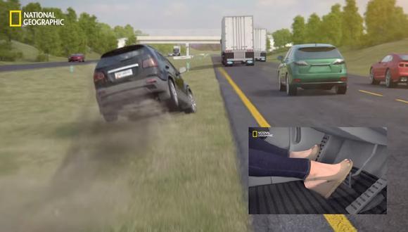 ¿Qué harías si te quedas sin frenos a alta velocidad? [VIDEO]