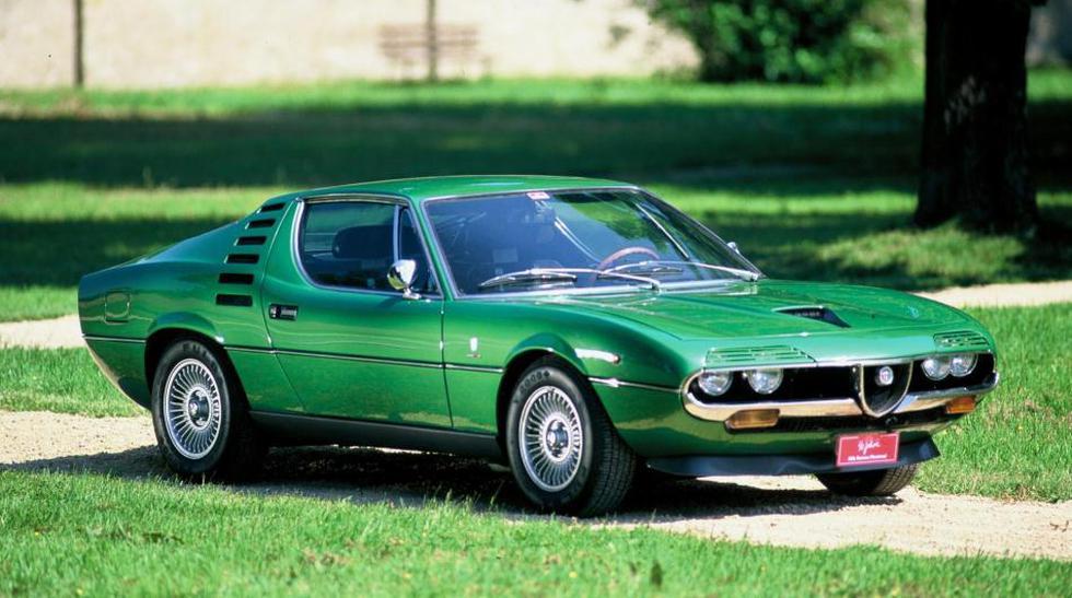 ALFA ROMEO MONTREAL COUPE: El coupé italiano debutó en Montreal, por eso su nombre, en 1972. Luego de más de 30 años, el auto puede ser adquirido por US$ 39.500, pero si lo deseas en perfectas condiciones puede llegar a costar