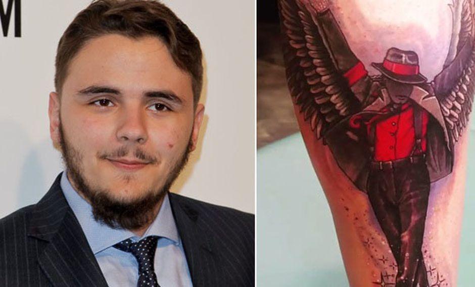 Michael Jackson: su hijo Prince le rinde homenaje con tatuaje