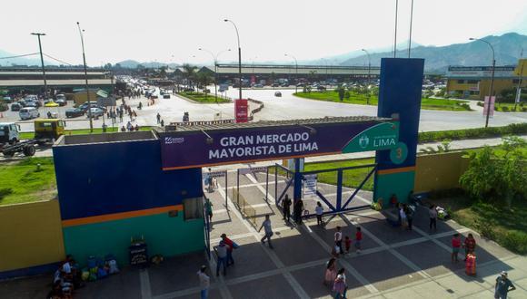 Ubicado en Santa Anita, el Gran Mercado Mayorista de Lima cuenta con pabellones para 19 giros diferentes de verduras y hortalizas.