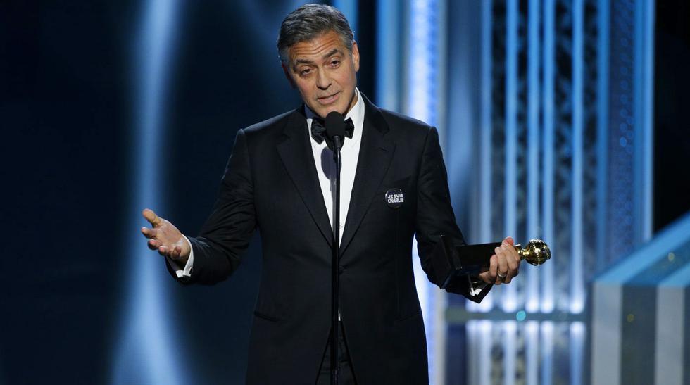 El Globo de Oro de George Clooney y Amal Alamuddin - 7
