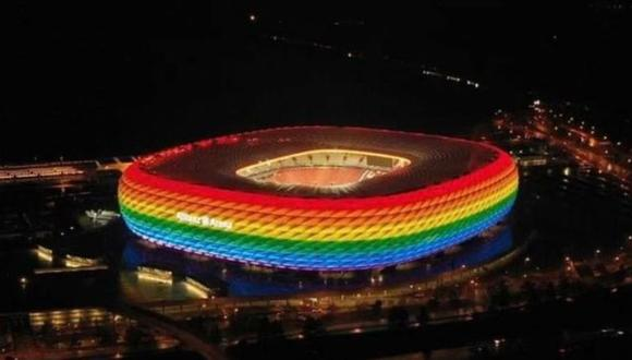 ¿Por qué la UEFA no aceptó este tipo de iluminación en el estadio de Múnich? Te lo contamos