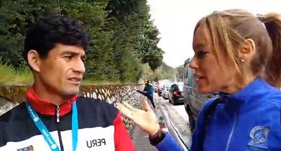 La Federación Peruana de Atletismo le pidió las disculpas del caso al entrenador por el mal momento vivido. (Foto: Captura)