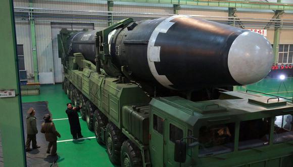 Corea del Norte está ocultando su arsenal nuclear, según el espionaje de Estados Unidos. (AP).