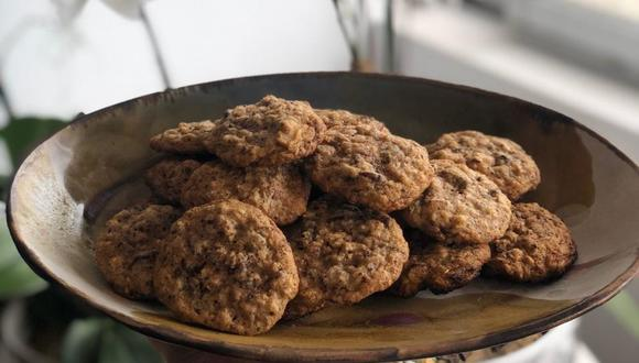 El jueves 14 tuvimos unas galletas de avena con chips de chocolate y pecanas / Foto: Ale Camino.