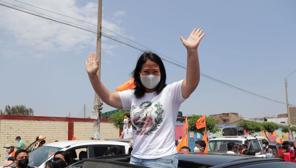 La candidata de Fuerza Popular, Keiko Fujimori, ya es ganadora en al menos 5 regiones del Perú. (Foto: REUTERS/Sebastian Castaneda)