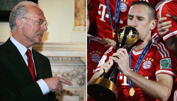 Beckenbauer se decepcionaría si Ribéry no gana el Balón de Oro