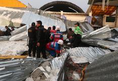 Huancayo: 12 personas continúan internadas tras desplome de techo en fiesta patronal