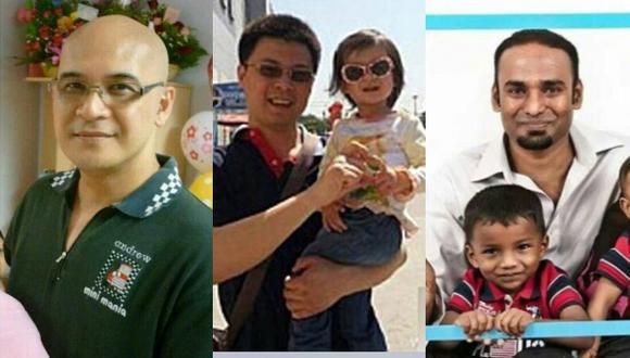 Andrew Nari, Hu Xiaoning y Puspanahtan Subramaniam. (Internet)