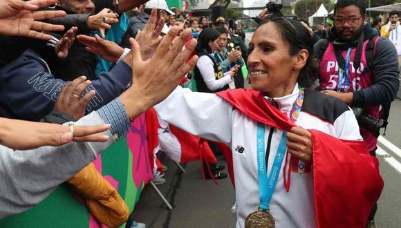 Gladys ganó el oro en Lima 2019. (Foto: GEC)