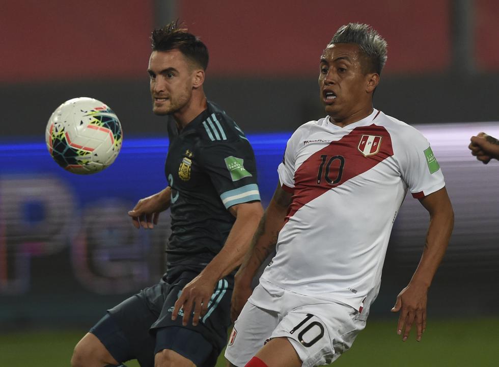 Perú - Argentina, por Eliminatorias. (Foto: AFP)