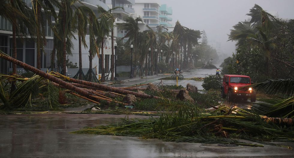 Se estima que los gastos tras el paso de Irma se eleven hasta los US$100.000 millones. Mientras que Harvey es considerado el desastre climático más costoso en la historia de EE.UU. (AFP)