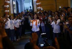 Fuerza Popular pide al JNE que requiera al PJ y a la fiscalía abstenerse de acciones contra partidos políticos