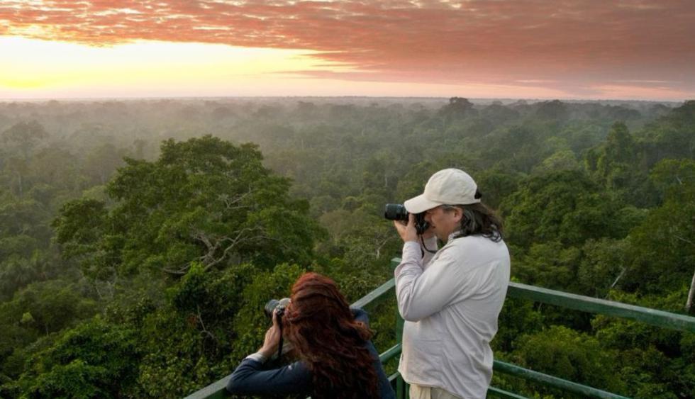 Los atardeceres en la Amazonía peruana son de los más entrañables. (Foto: PromPerú)