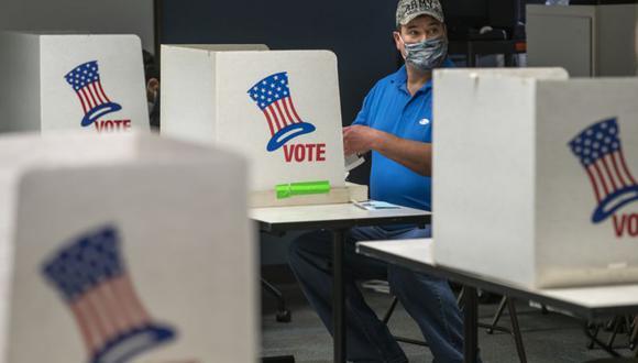 Una nueva lucha sobre el derecho de votación asoma en Estados Unidos. (Getty Images).