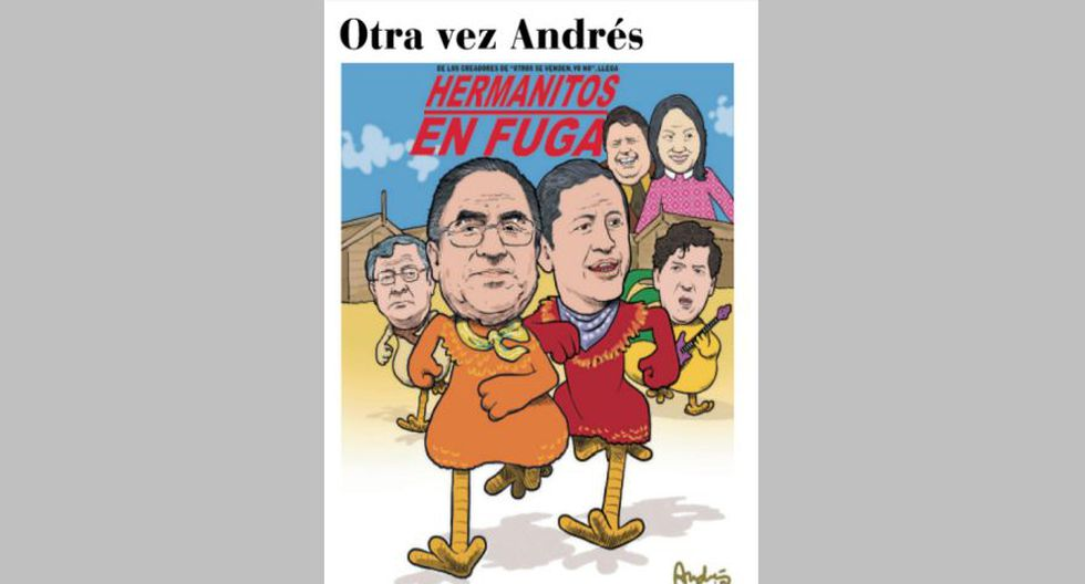 Otra vez Andrés: César Hinostroza y la justicia en el país desde la mirada de Edery