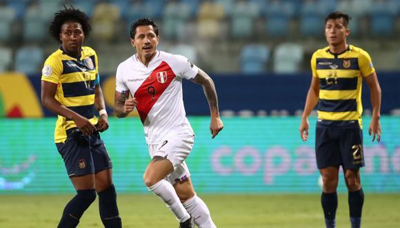 Lapadula ha sido titular en cada presentación peruana en la Copa América. (Foto: Conmebol)