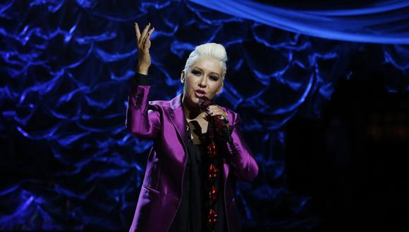 Christina Aguilera. (Foto: AP)