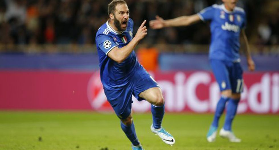 Juventus venció 2-0 a Mónaco con doblete de Gonzalo Higuaín