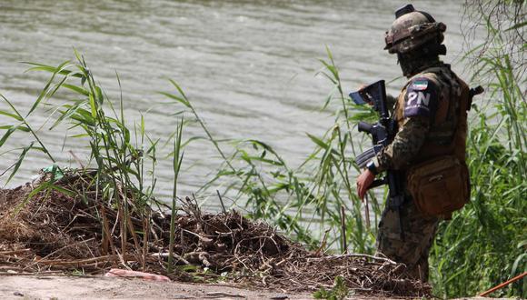 México: Mueren padre y su hija salvadoreños al intentar cruzar río Bravo hacia Estados Unidos. (EFE).