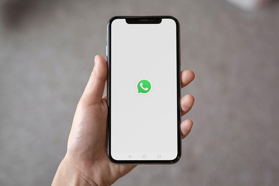 Así luce la nueva pantalla de presentación de WhatsApp. (Foto: Captura)