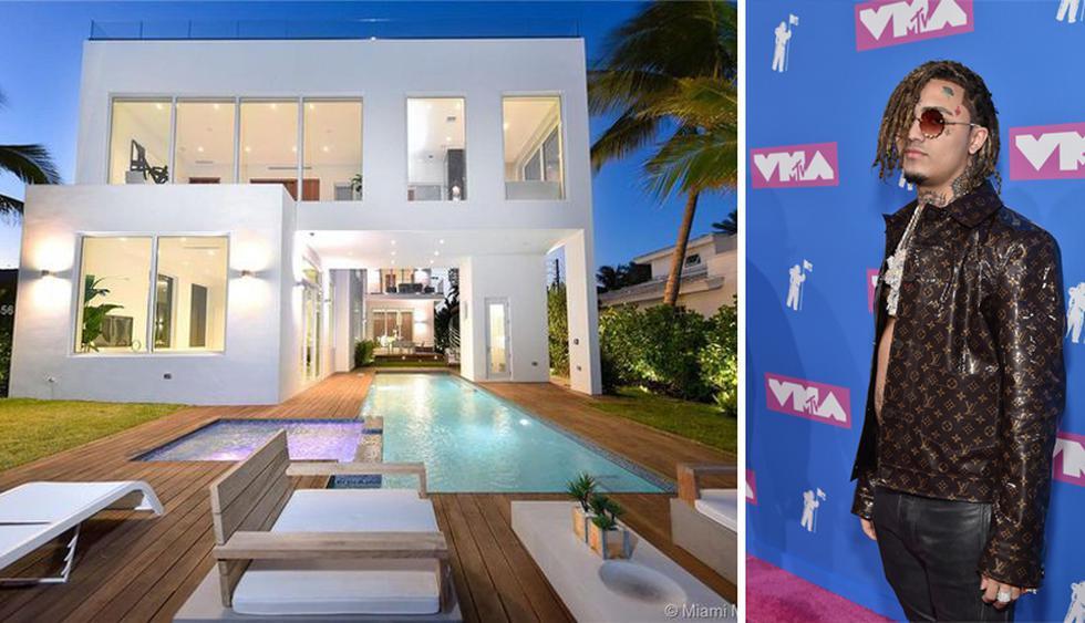 La mansión se ubica en la isla de Normandía, en Miami. Lil Pump pagó por ella US$ 4.6 millones. (Foto: The MLS)