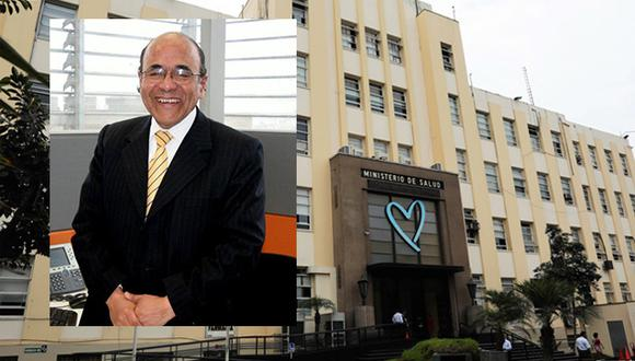 Jorge Alania estaba al frente de la Dirección de Comunicaciones del Minsa. (Foto: Minsa/ Facebook)