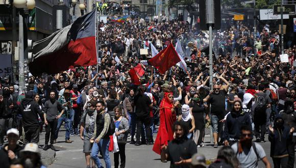 Las protestas en Chile han dejado un saldo de 11 muertos hasta el momento. (Foto: AFP)