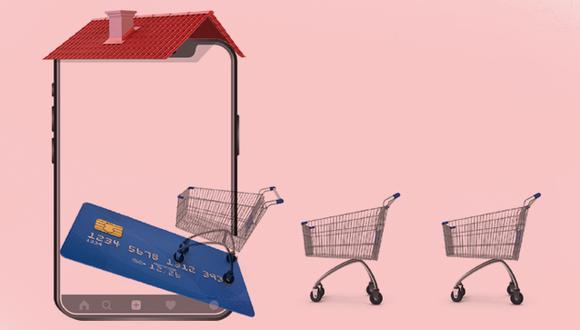 Estudio de Niubiz sobre la caída del consumo. (Ilustración: Jean Izquierdo/GEC)