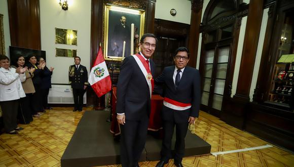 Vicente Zeballos señala que Mercedes Araoz sigue siendo vicepresidenta porque no presentó su renuncia ante el pleno del Congreso (Foto: Presidencia)