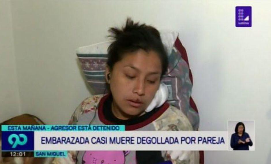 Embarazada golpeada. (Latina)