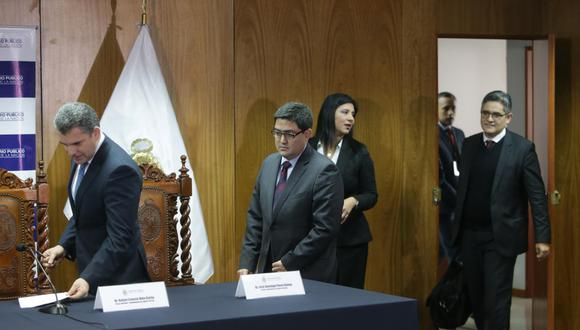 Montoya y Azabache coincidieron en señalar que Ministerio Público y Procuraduría Ad Hoc pudieron incluir cláusula en acuerdo que fijara que Odebrecht no demandaría al Estado Peruano ante tribunales internacionales. (Foto: El Comercio)