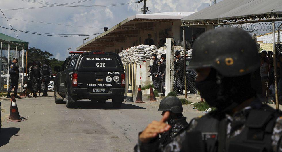 Brasil: un enfrentamiento entre prisioneros deja 15 muertos en una cárcel de la ciudad amazónica de Manaos. (AP).