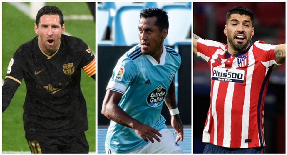 SofaScore hizo el equipo ideal de la fecha de LaLiga e incluyó a Renato Tapia, (Foto: AFP)