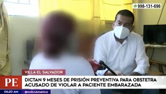 Según la denuncia de la víctima, el obstetra Alberto Cardich Bota abusó de ella cuando le realizaba la atención. FOTO: Captura de pantalla