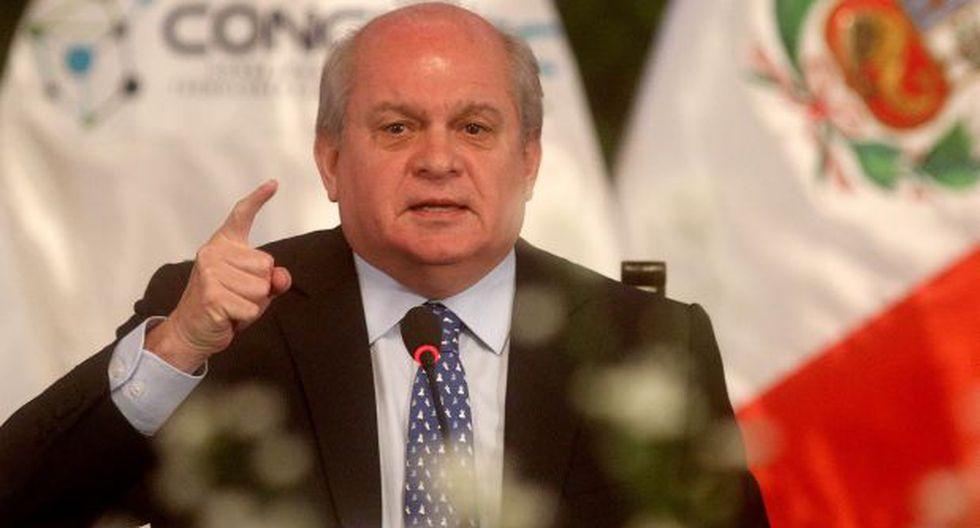 Pedro Cateriano descarta aumento del sueldo mínimo por ahora