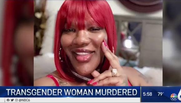 El deceso de Alexus Braxton es la primera muerte violenta de una persona transgénero este año en Miami-Dade. (Captura de pantalla/NBC Miami).